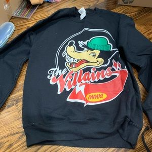 The Villains crewneck size small